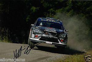 Matti Rantanen (rally driver) Rally Driver Matti Rantanen Hand Signed Photo Ford Focus RS WRC 08