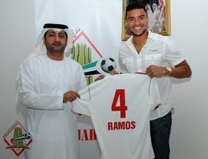 Maurício Ramos Maurcio Ramos se despede do Verdo e apresentado ao Sharjah