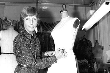 Maureen Baker (fashion designer) Fashion tbt English fashion designer Maureen Baker created the