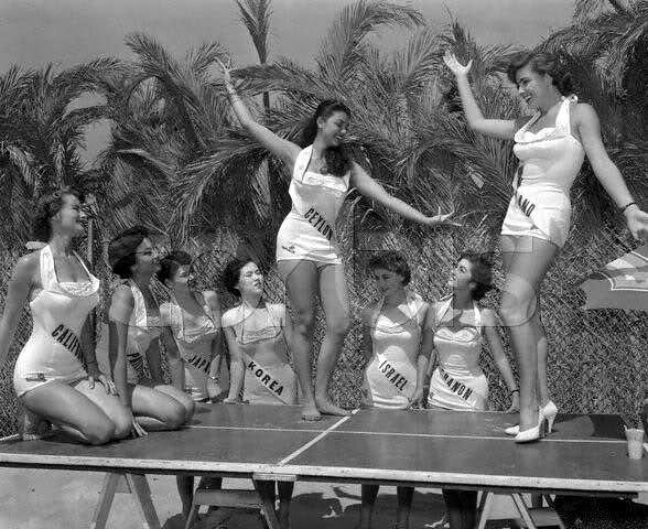 Maureen Hingert Vintage Miss Universe