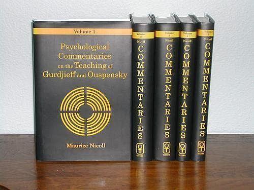Maurice Nicoll Gurdjieff Books