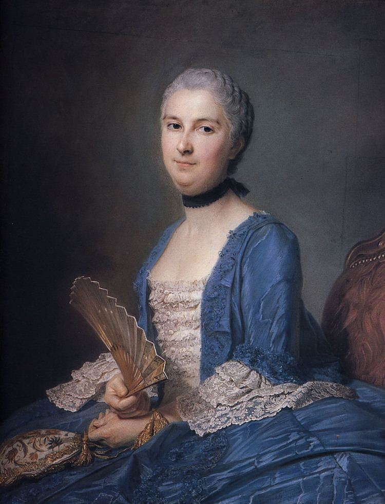 Maurice Quentin de La Tour Mary Magdalene Mazade wife of Antoine Gaspard Grimoldi of