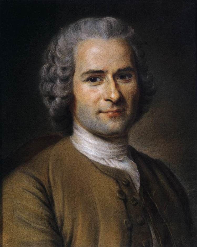 Maurice Quentin de La Tour Portrait of JeanJacques Rousseau by LA TOUR Maurice