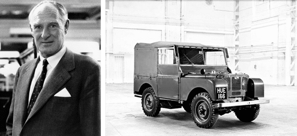 Maurice Wilks Land Rover on Twitter Like father like son Celebrating the