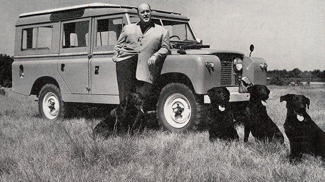 Maurice Wilks The godfather of Land Rover Maurice Wilks and his four best mates