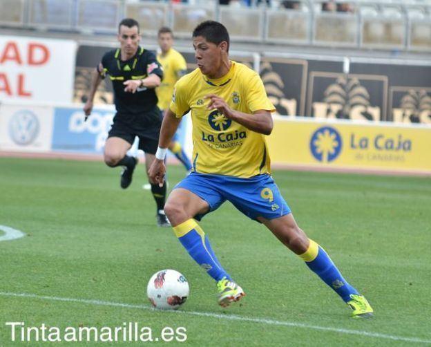 Mauro Quiroga Tinta Amarilla UD Las Palmas Ftbol canario CB Gran