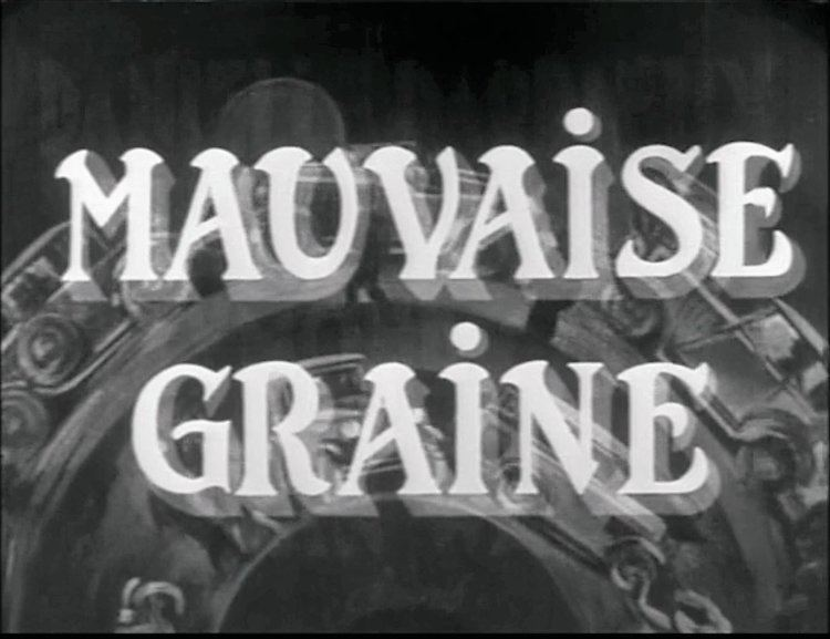 Mauvaise Graine Mauvaise Graine Billy Wilders Swift and Satisfying Directorial