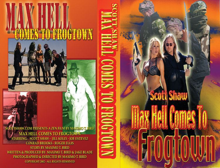 Max Hell Frog Warrior Max Hell Frog Warrior Video Tape Scott Shaw