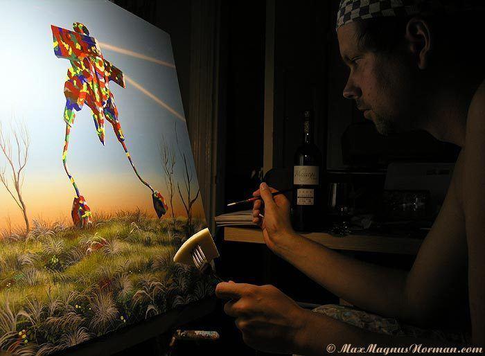Max Magnus Norman Artinthepicturecom blog Unknown artists