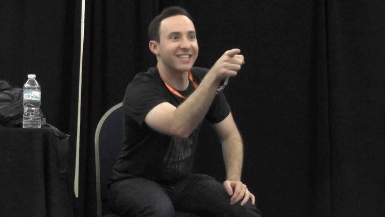 Max Mittelman Anime Weekend Atlanta 2016 Max Mittelman Panel Part 3 YouTube