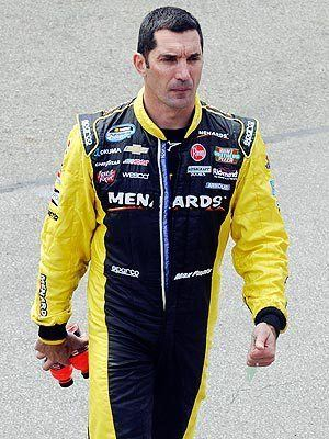 Max Papis Max Papis Slapped by Woman at NASCAR Truck Series Race