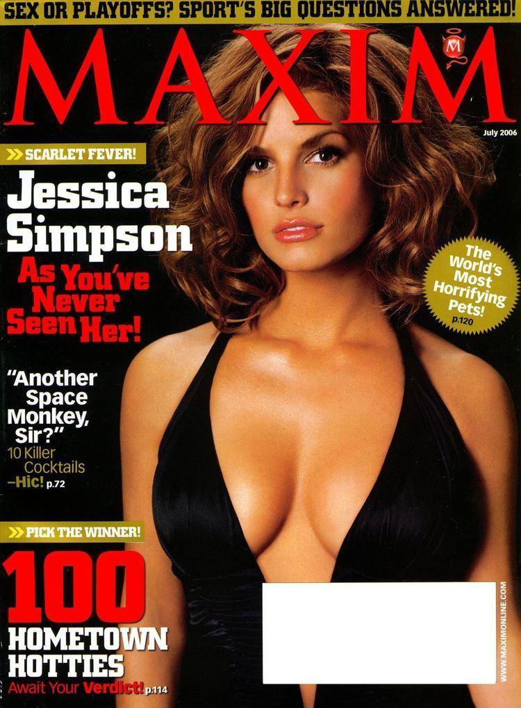 Maxim (magazine) Jessica Simpson Maxim Magazine July 2006 GotCeleb