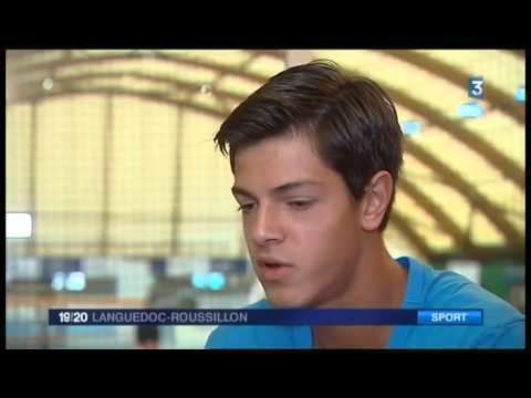 Maxime Mora Maxime MORA French TV Report on the young Tennis player YouTube
