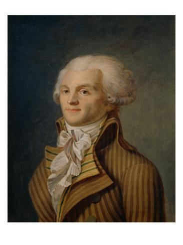Maximilien Robespierre Portrait of Maximilien Robespierre Giclee Print at
