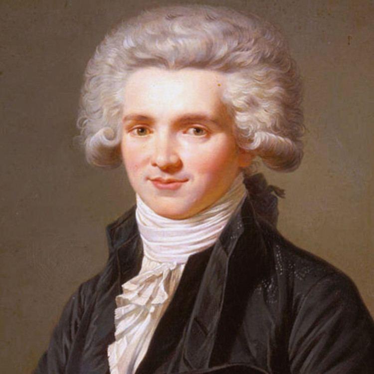 Maximilien Robespierre Maximilien de Robespierre Activist Government Official Lawyer