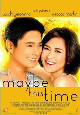 Maybe This Time (2014 film) movie poster