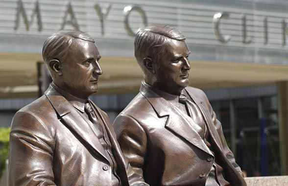 Mayo Clinic in the past, History of Mayo Clinic