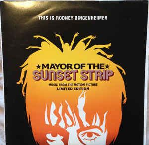 Mayor of the Sunset Strip Various Mayor Of The Sunset Strip Music From The Motion Picture