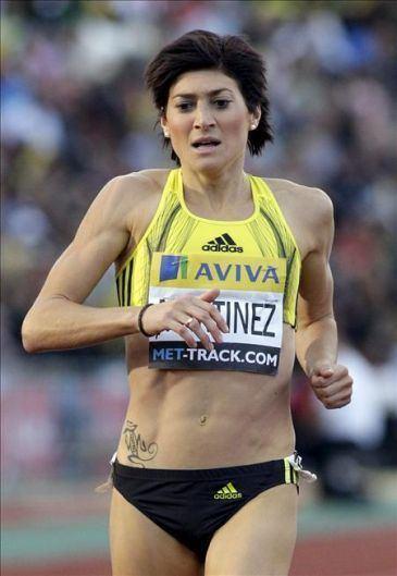 Mayte Martínez Mayte Martnez cuarta en 800 con 20021 Ques