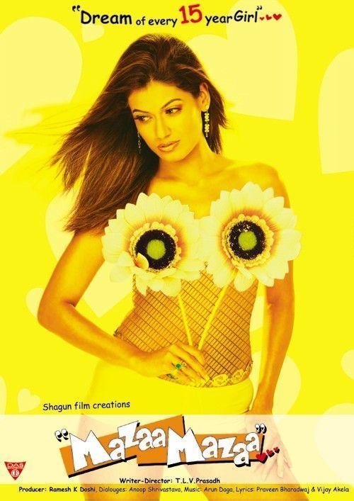 Mazaa Mazaa Movie Poster 1 of 3 IMP Awards