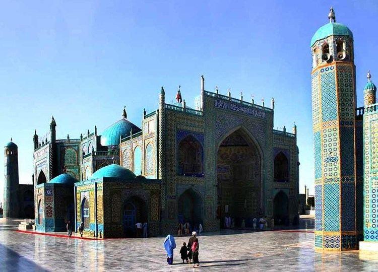 Mazar i Sharif in the past, History of Mazar i Sharif
