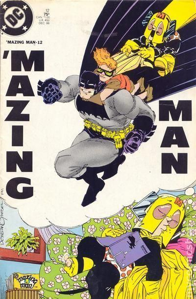 'Mazing Man Mazing Man 1986 comic books