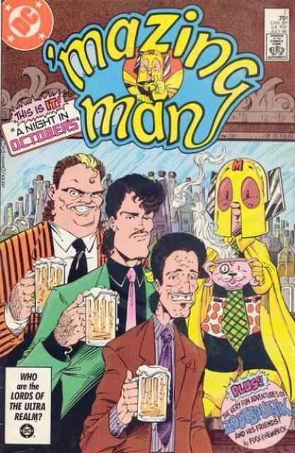 'Mazing Man Mazing Man Volume Comic Vine