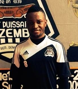 Mbala Mbuta Biscotte Footballtransferts Mazembe carte Mbala et Bedi Kanda et Bokanga