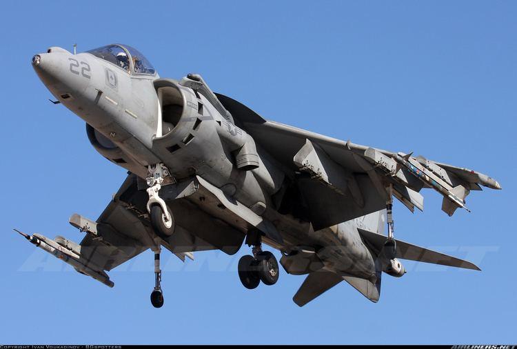 McDonnell Douglas AV-8B Harrier II McDonnell Douglas AV8B Harrier II USA Marines Aviation Photo