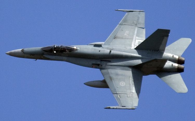 McDonnell Douglas CF-18 Hornet McDonnell Douglas CF18 Hornet Wikipedie