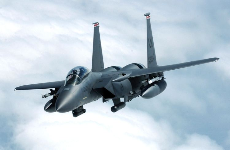McDonnell Douglas F-15E Strike Eagle McDonnell Douglas F15E Strike Eagle Simple English Wikipedia the