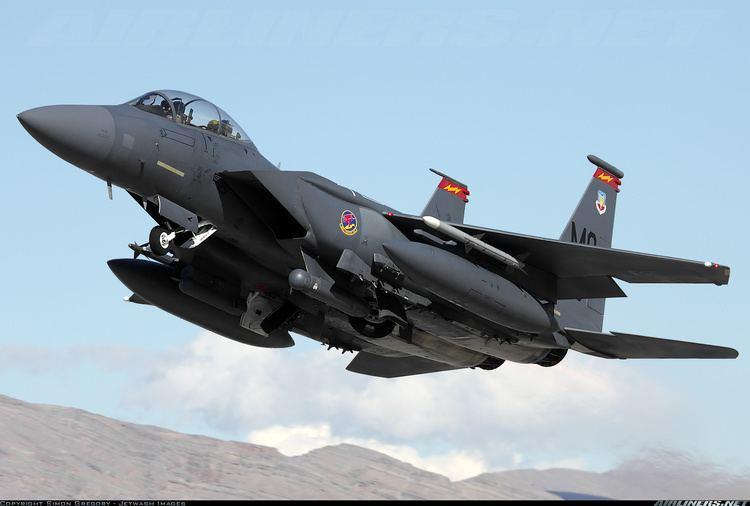 McDonnell Douglas F-15E Strike Eagle McDonnell Douglas F15E Strike Eagle USA Air Force Aviation
