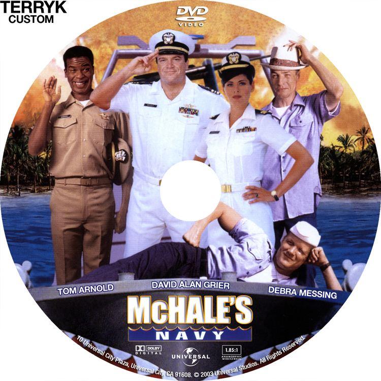 McHale's Navy (1997 film) McHales Navy DVD Label 1997 R1 Custom Art
