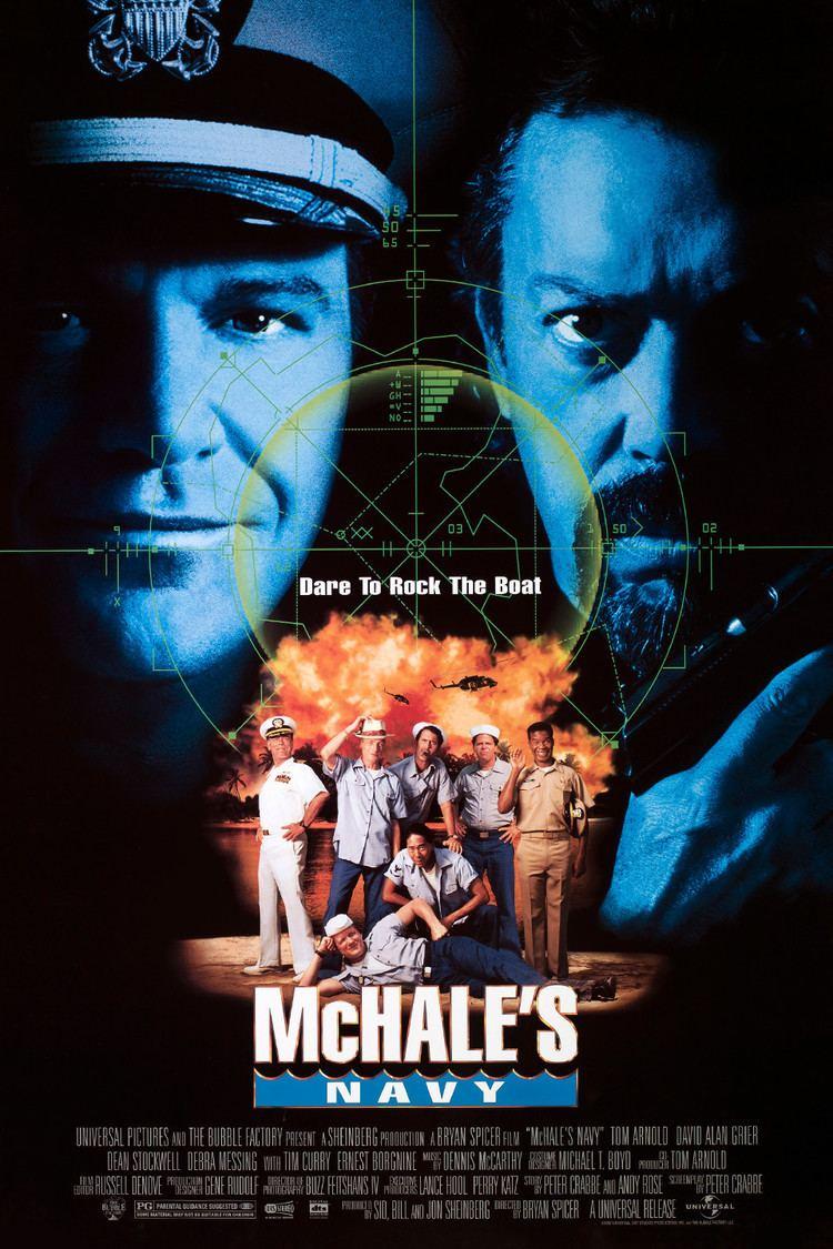 McHale's Navy (1997 film) wwwgstaticcomtvthumbmovieposters19265p19265