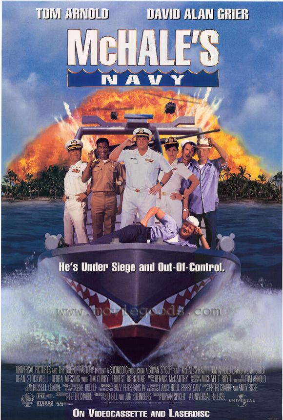 McHale's Navy (1997 film) All Movie Posters and Prints for McHales Navy JoBlo Posters
