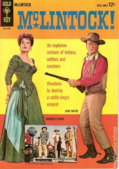McLintock! McLintock 1964 Movie Comics comic books