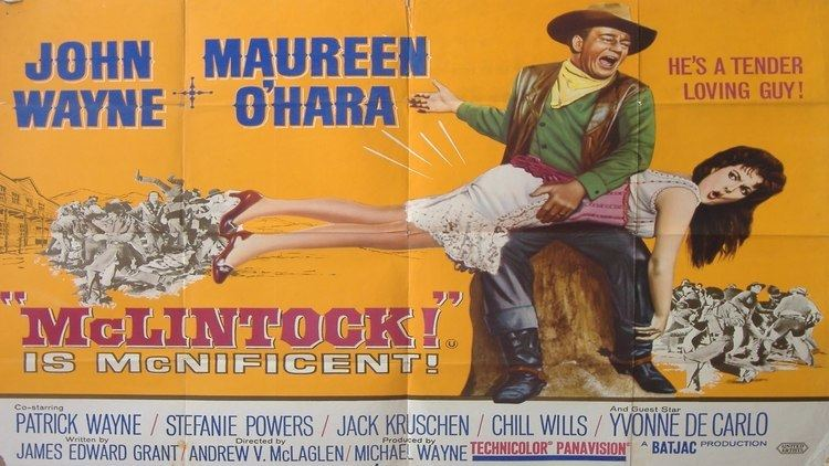 McLintock! McLintock 1963 John Wayne Full Movie 1080p HD YouTube