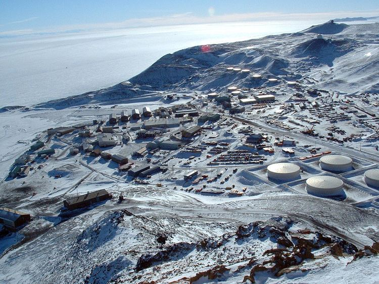McMurdo Station The USAP Portal Science and Support in Antarctica McMurdo Station