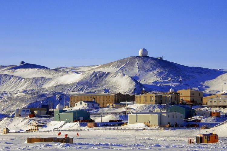 McMurdo Station McMurdo Station Antarctica A Research Town John Clarke Online