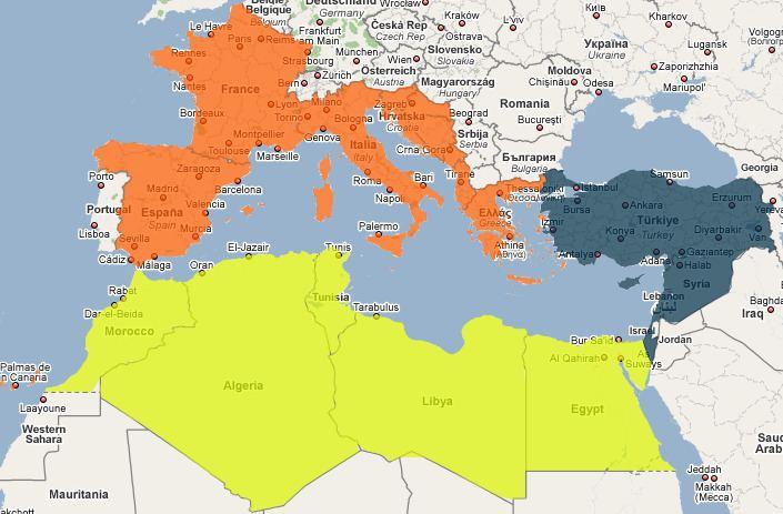 Mediterranean Basin RockArt of the Mediterranean Basin Sights