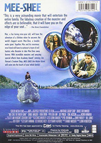 Mee-Shee: The Water Giant Amazoncom MeeShee The Water Giant Bruce Greenwood Daniel
