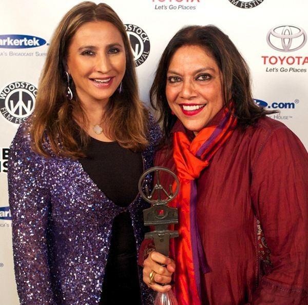 Meera Gandhi Mira Nair Receives Annual Giving Back Award from Meera