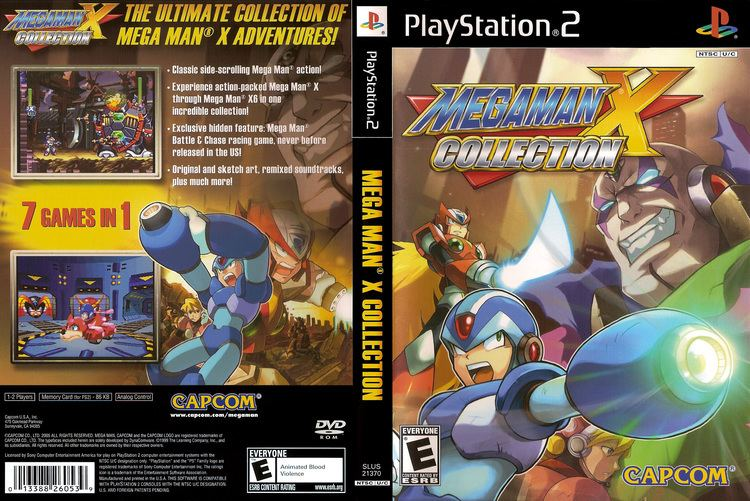 mega man x collection psx iso