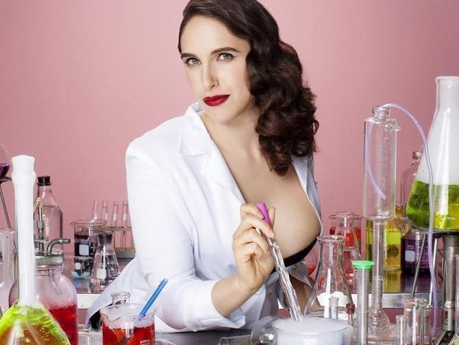 Megan Amram Sexy molecules Comedian Megan Amram talks 39Science for