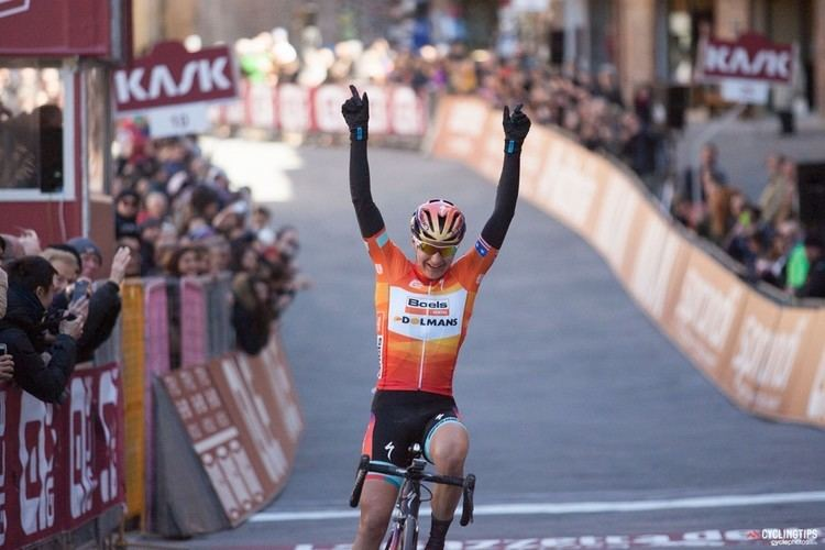 Megan Guarnier Megan Guarnier claims firstever womens Strade Bianche title