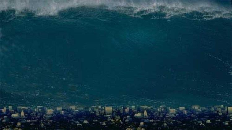 Megatsunami Scientists predict MEGATSUNAMI twice the size of Big Ben to wipe