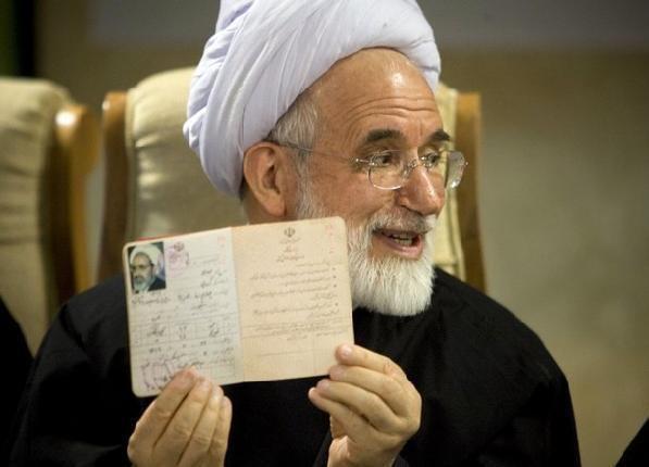 Mehdi Karroubi Israel Matzav Surprise Iranian opposition opposes sanctions