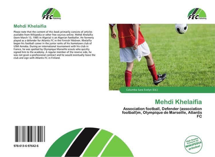Mehdi Khelaifia Mehdi Khelaifia 9786136976426 6136976420 9786136976426