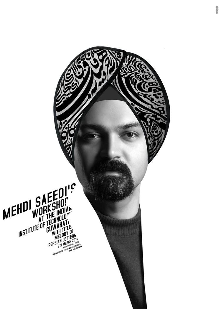 Mehdi Saeedi Typography Day 2013 Department of Design IIT Guwahati