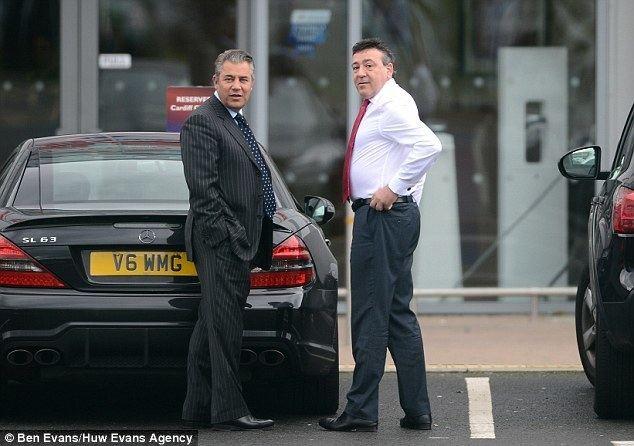 Mehmet Dalman Cardiff City truce after chairman Mehmet Dalman steps in
